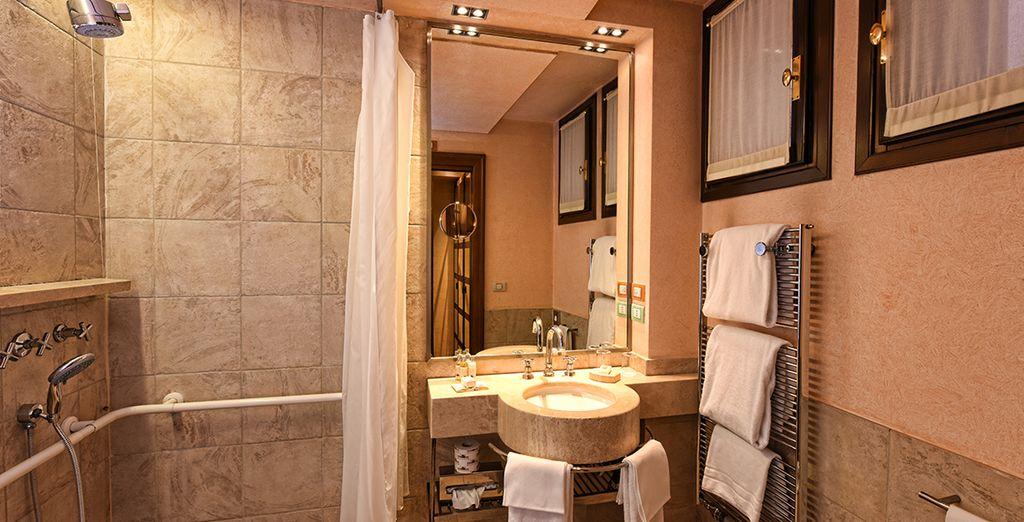 With stylish modern amenities