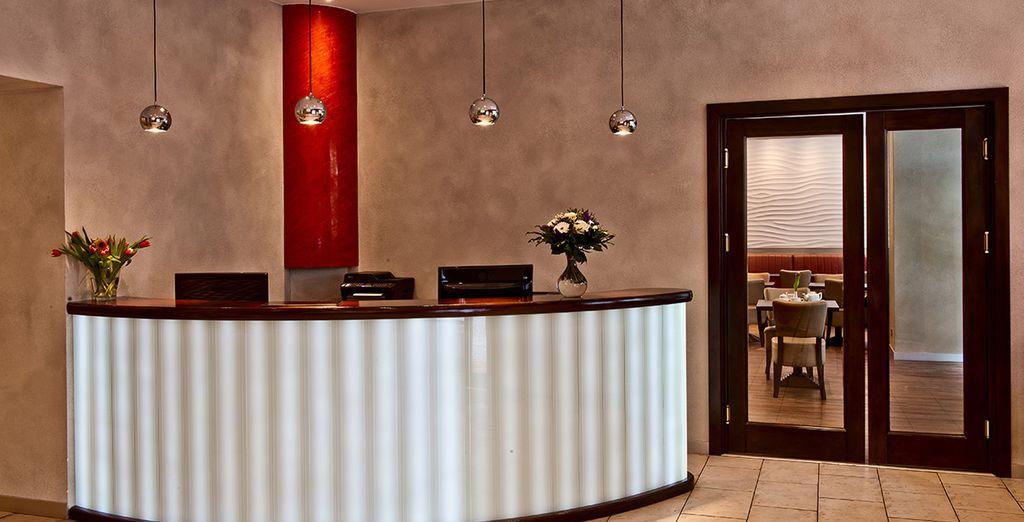 A modern and stylish hotel