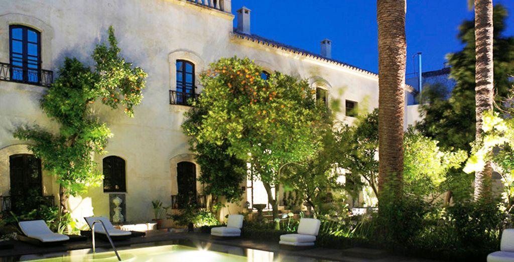 Experience 5* luxury at the Hospes Palacio del Bailio