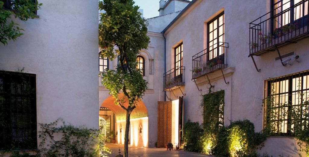 It is set in the perfect location of Cordaba, Spain