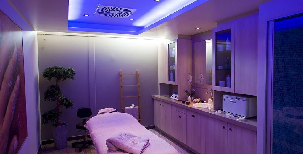 Unwind with a spa treatment