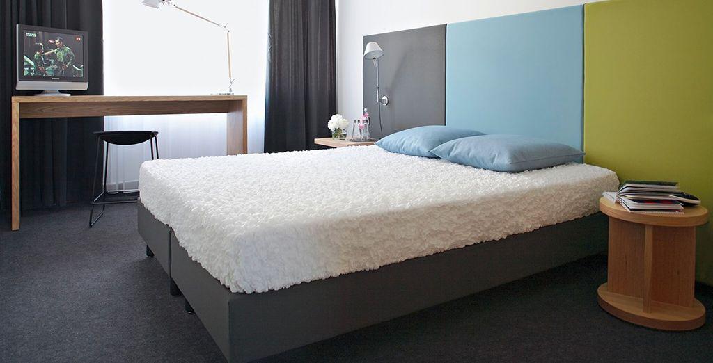 Sleep well in your comfortable room