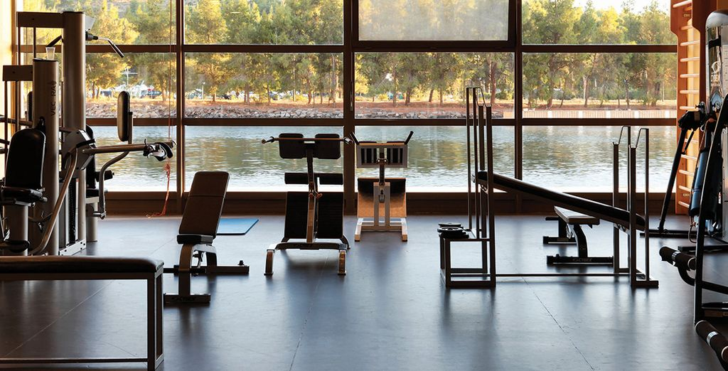Stay active at the high tech gym...