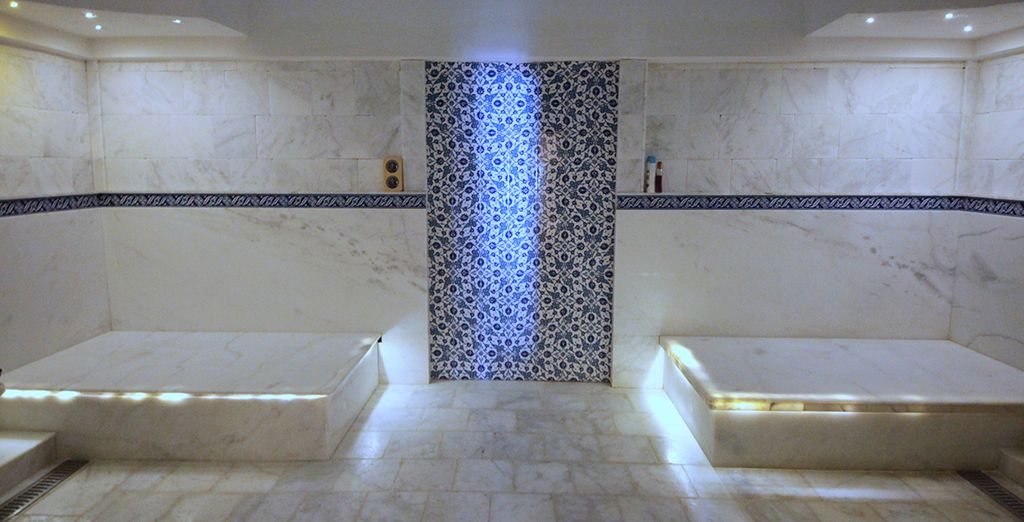The traditional hammam will soothe your senses