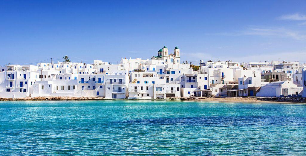 And the unique island of Paros....