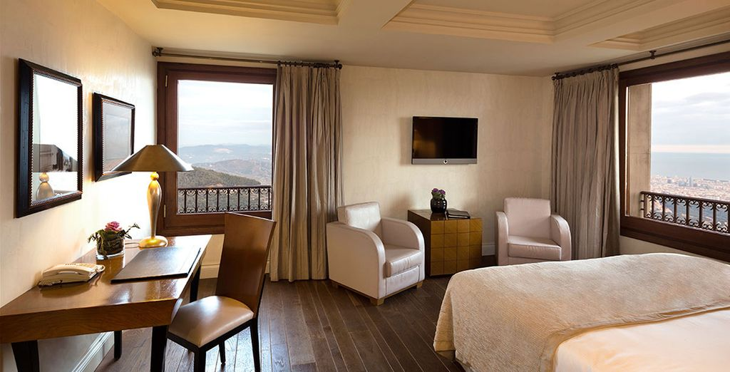 The Deluxe Room (room upgrade to be allocated on arrival)