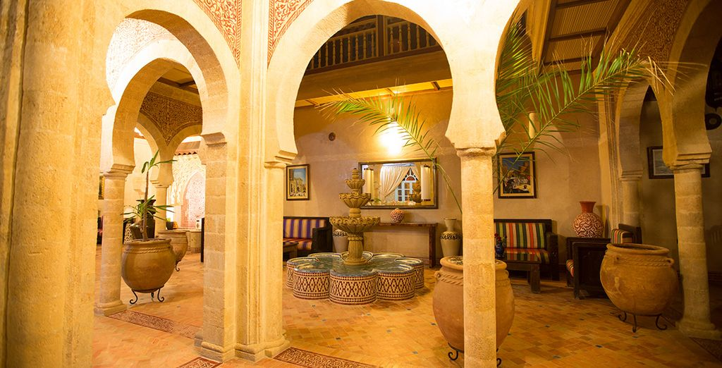 At this authentic riad