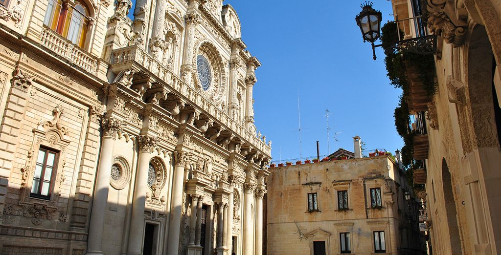In the historic city of Lecce