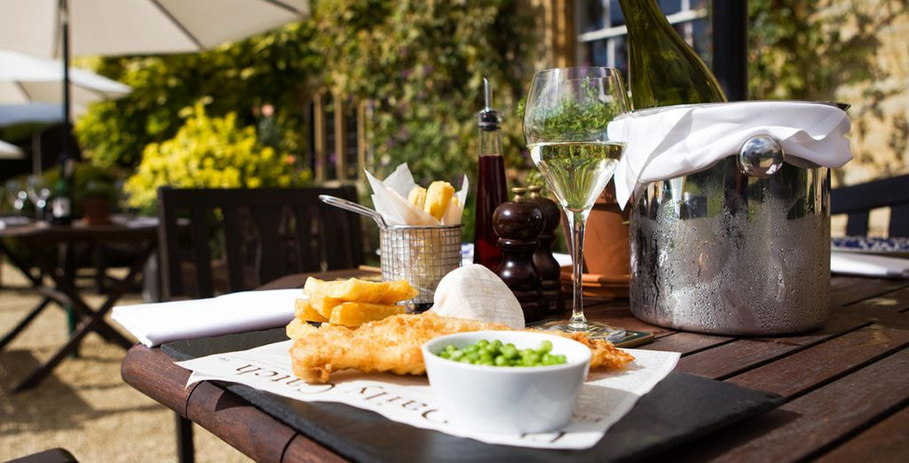 Or a gourmet pub lunch if the weather permits!