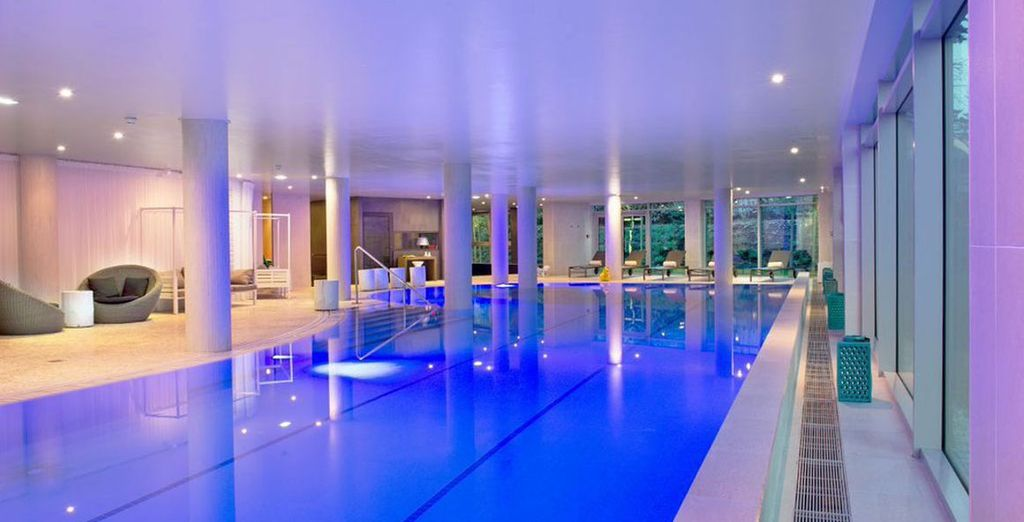 Unwind in the relaxing spa
