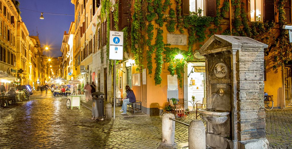 Wander through the city's characterful narrow streets