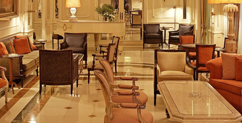 Lavish interiors welcome you