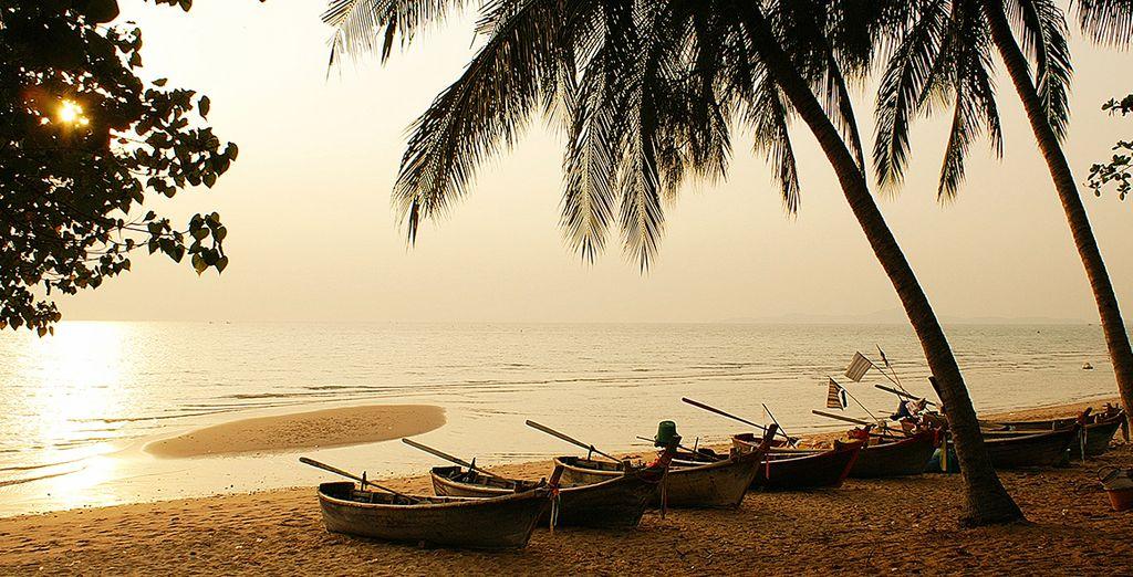 In sunny Thailand