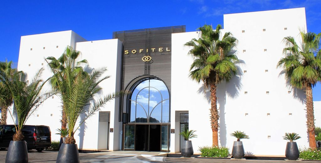Welcome to a luxury Sofitel resort