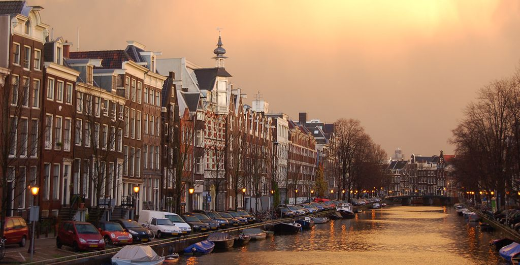 In the heart of beautiful Amsterdam