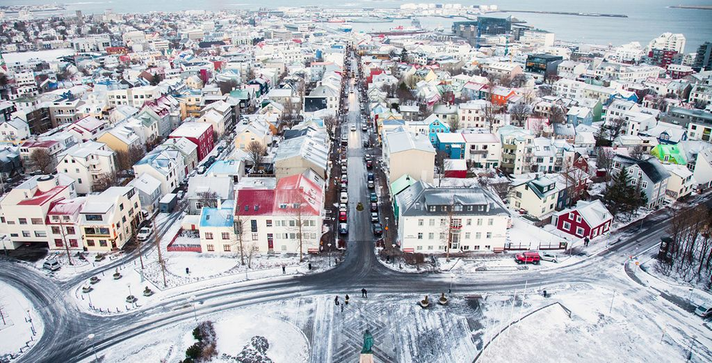 Head to the unique city of Reykjavik