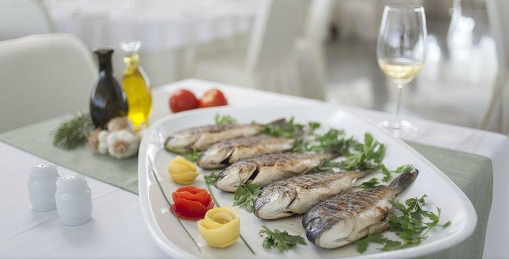Feast on fresh, local cuisine