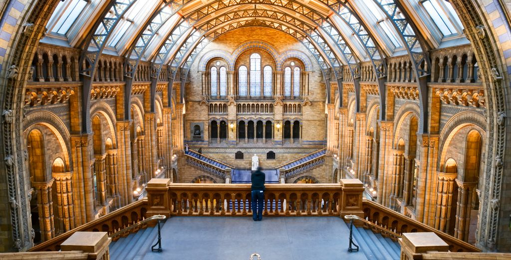 And the spectacular Natural History Museum