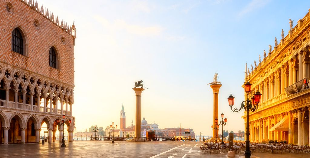 A must-see is Piazza San Marco which is especially beautiful when the sun settles