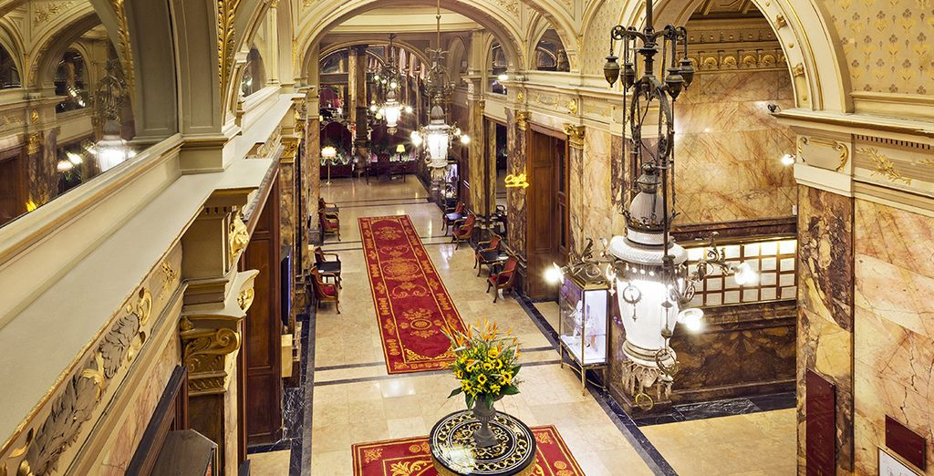 Step back in time when you enter this grand, palatial hotel - Hotel Metropole Brussels 5* Brussels