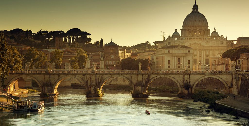 You couldn't ask for more from your holiday to beautiful Rome