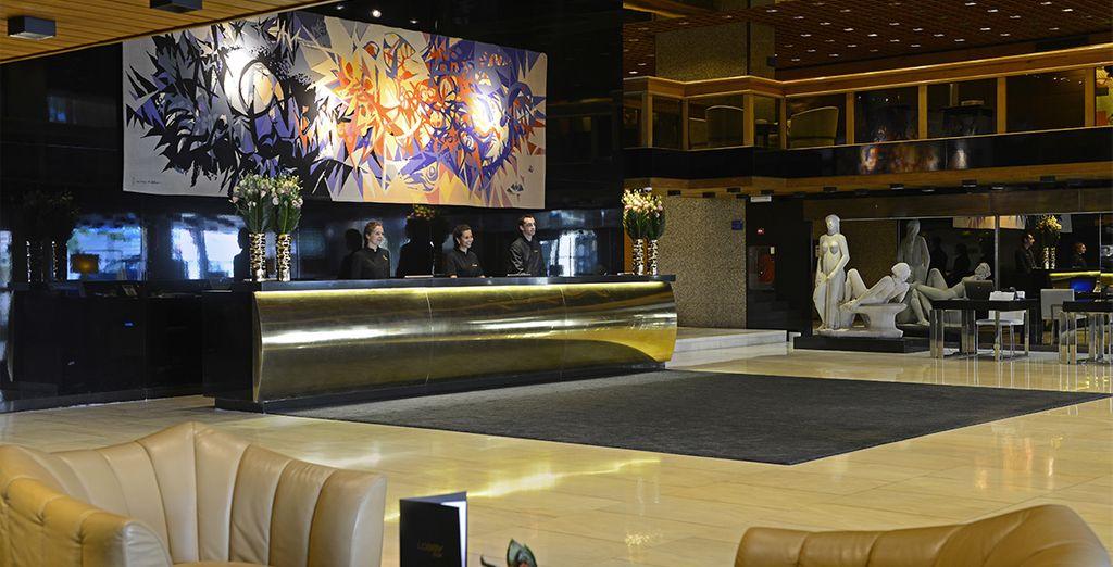 At the modern 5* Altis Grand Hotel - Altis Grand Hotel 5* Lisbon