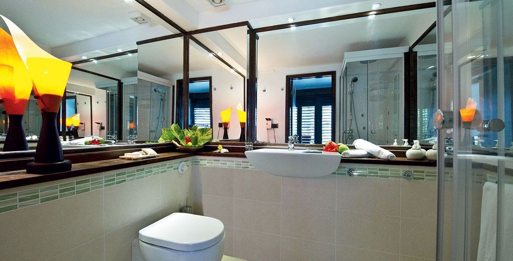 Equipped with luxurious amenities