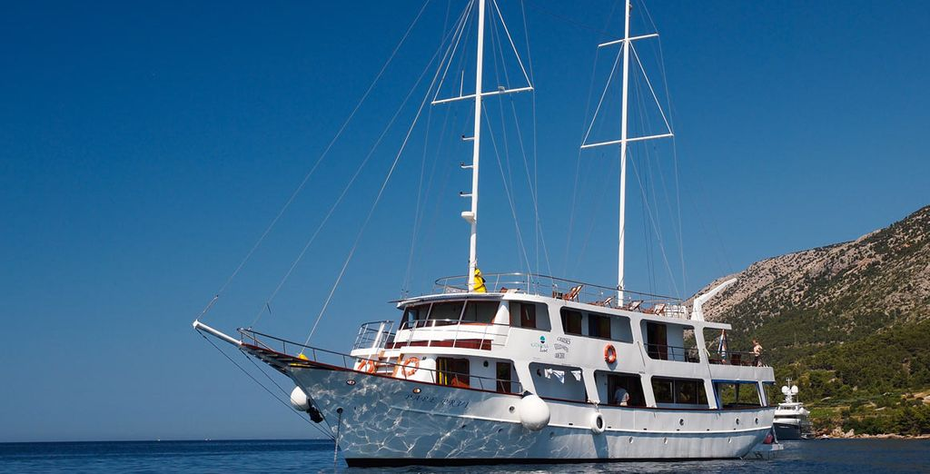 Croatia Cruise Voyage Privé Up To - Small ship cruises for dalmatian coast