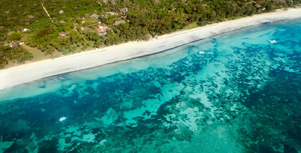 Then escape to the beaches of Mombasa...