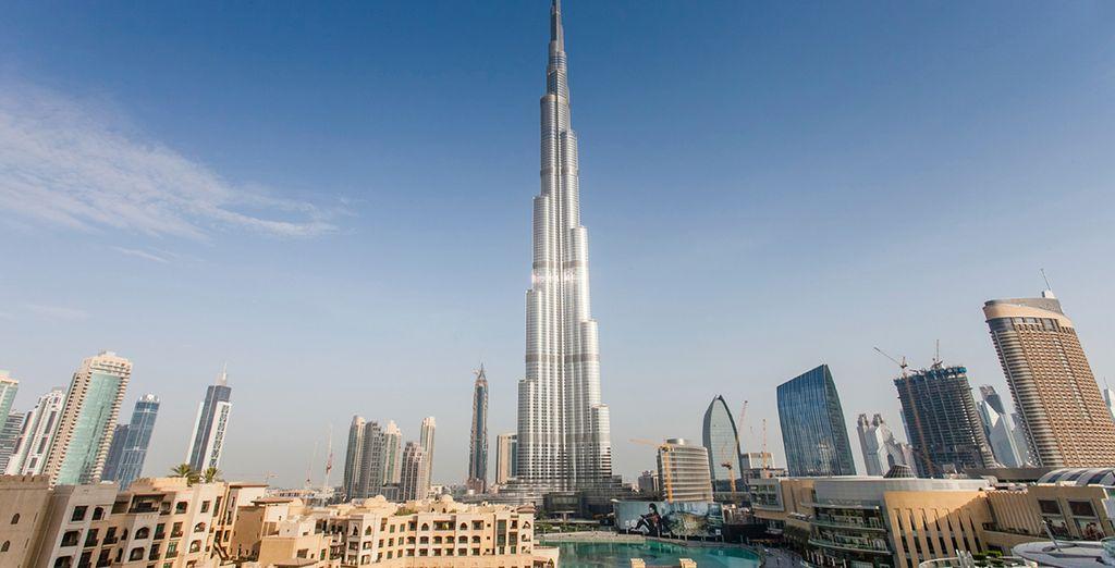 In glamorous Dubai