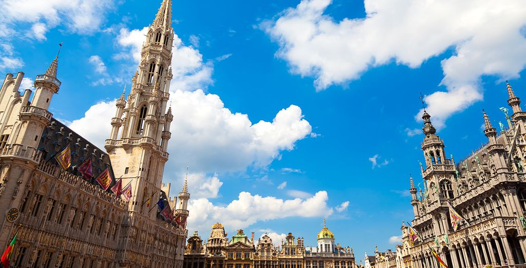 Or head to the bustling city of Brussels to liven things up