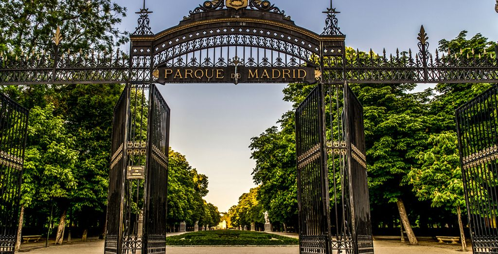Lose yourself in its famous royal park