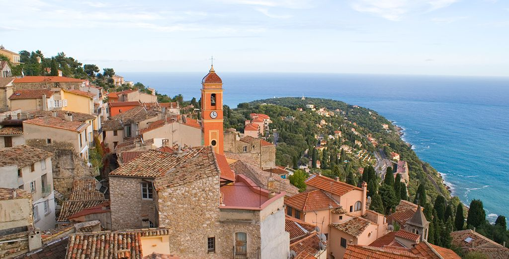 Explore the nearby medieval village of Roquebrune