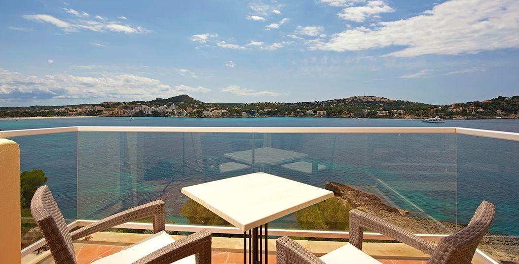 In sunny Mallorca