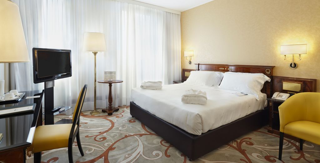 Where you will be upgraded to a Superior Room
