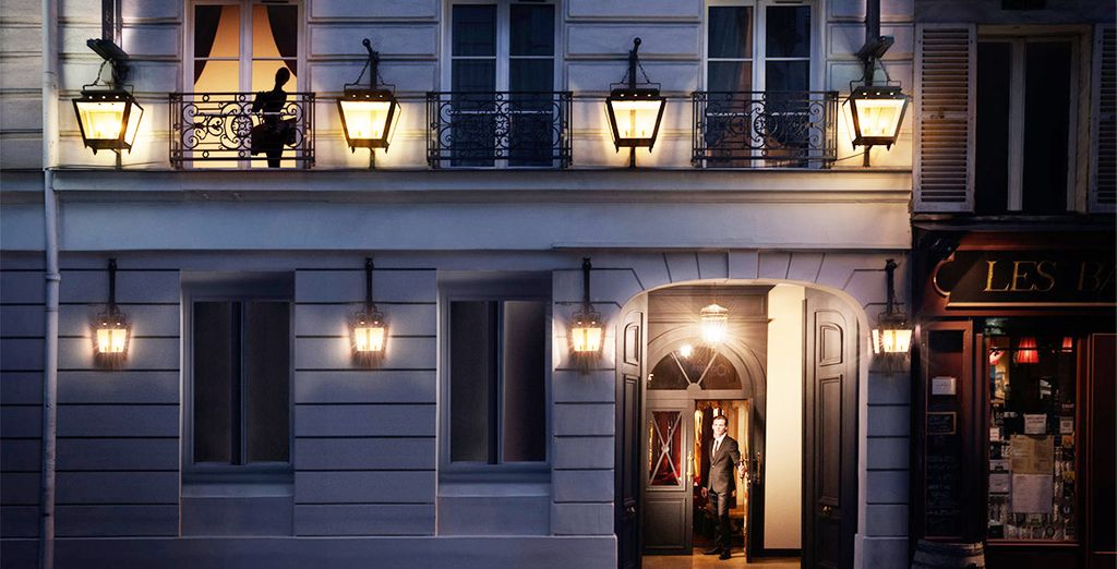 A boutique hotel, with interiors by famous French designer Jacques Garcia