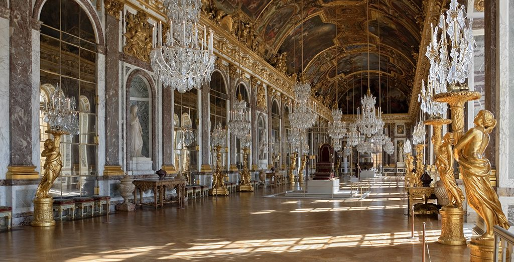 Whose previous works include restoring the Palace of Versailles