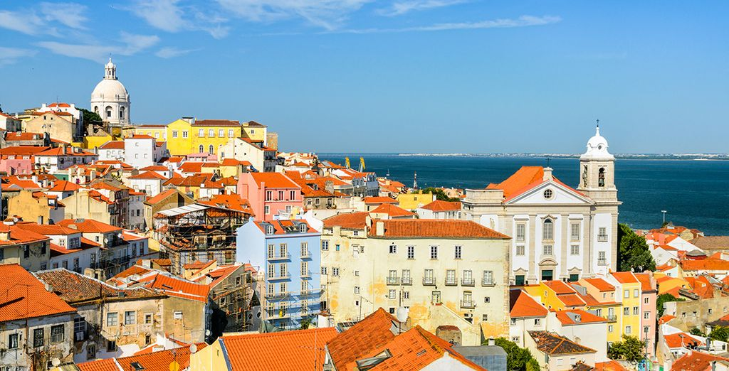 Not to mention Lisbon, the city of a thousand colors