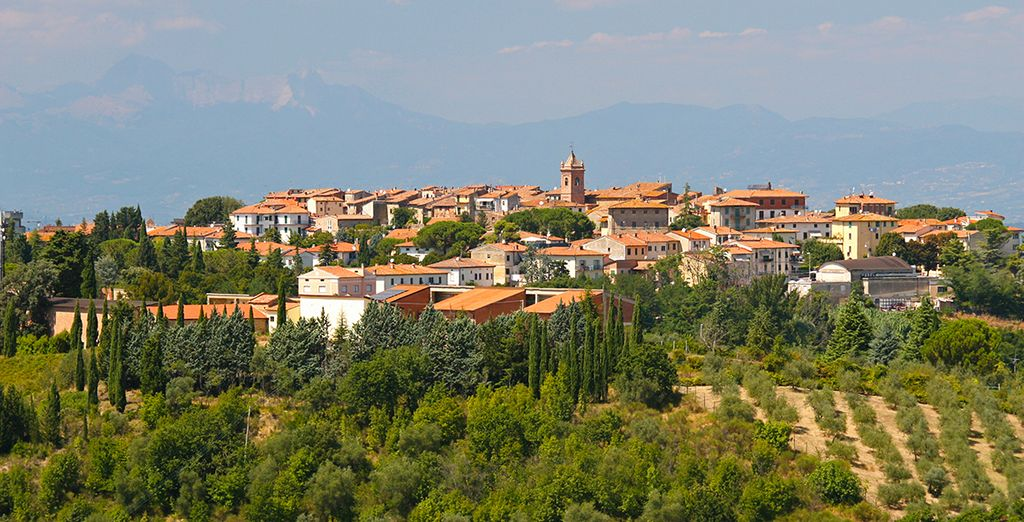 Or stay close to home in the beautiful Montaione