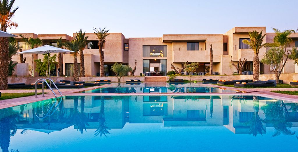 Jet off for some sun at this splendid resort, 10 minutes from Mohammed VI Avenue