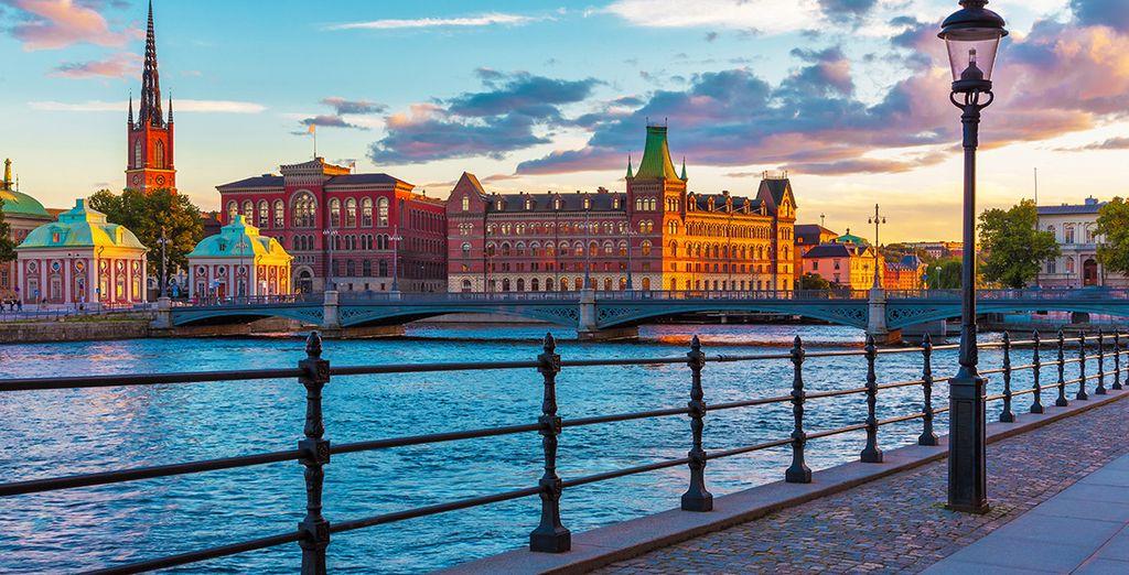 In cosmopolitan Stockholm