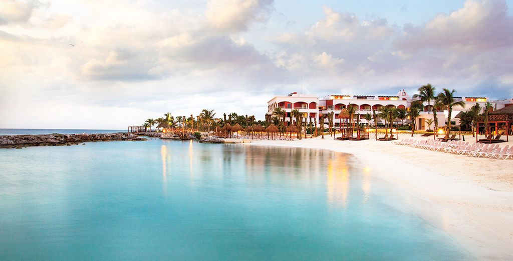Here you will encounter some of the finest Caribbean beaches...