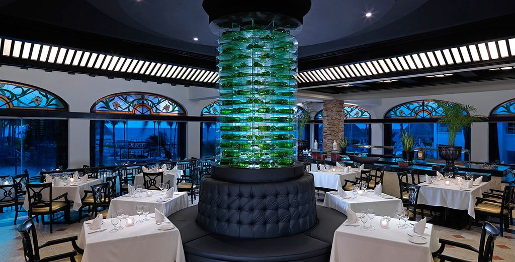 Enjoy the beautifully crafted restaurants