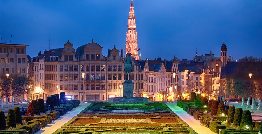 Such as the Grand Place