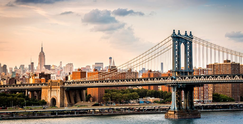 Cross the bridge to trendy Brooklyn