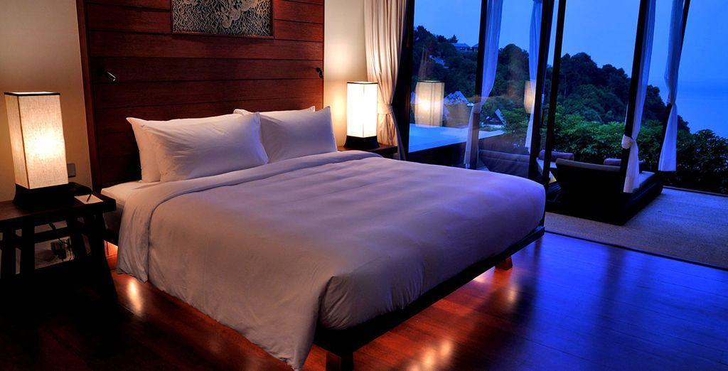 Revel in the luxury of your Ocean Pool Suite