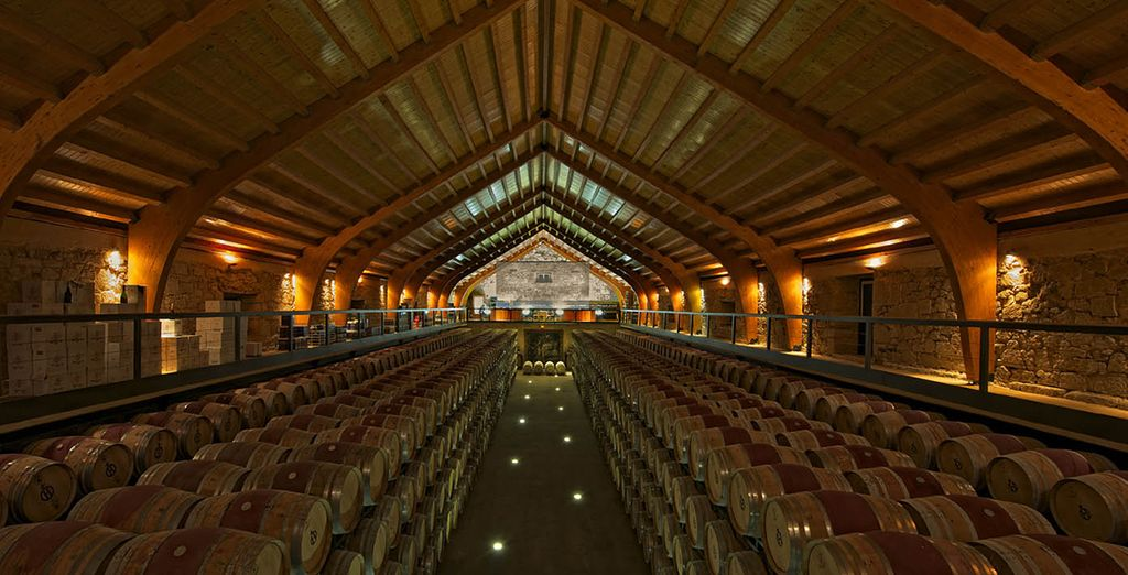 You will enjoy superb wine tasting sessions