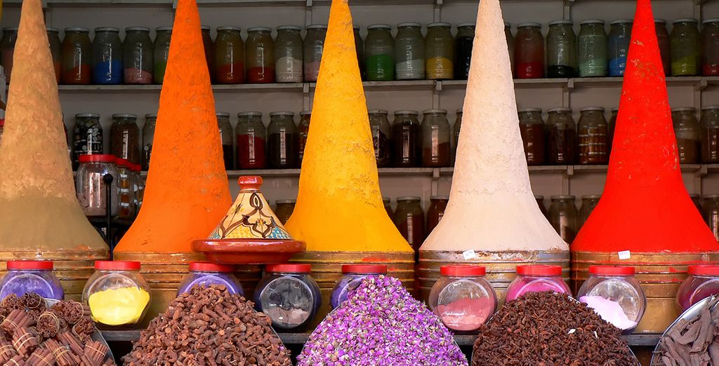 An exotic land of spice souks and ancient history....