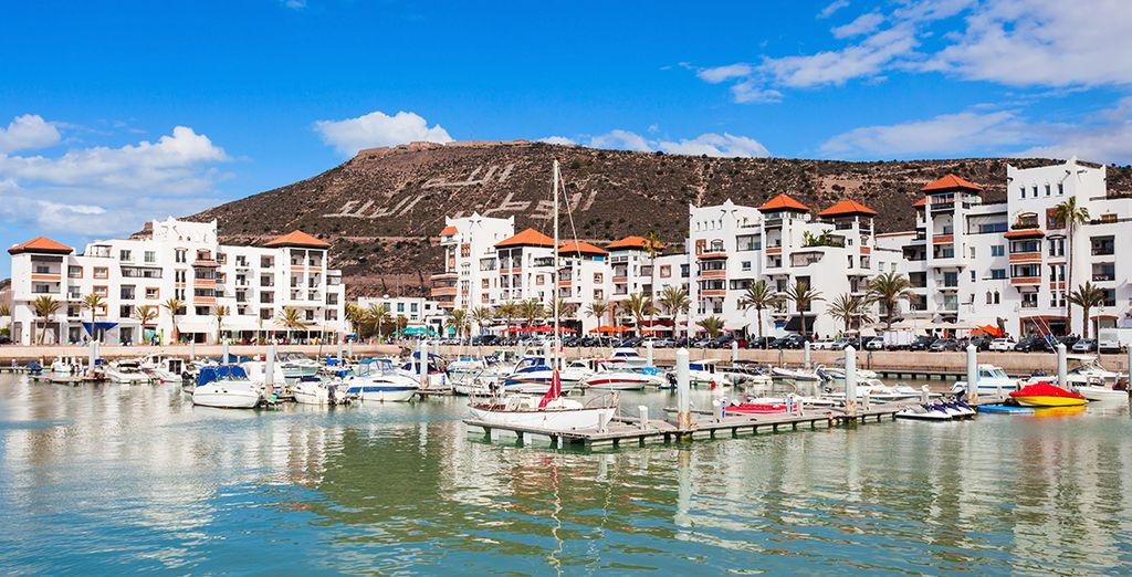 Your adventure begins in Agadir....