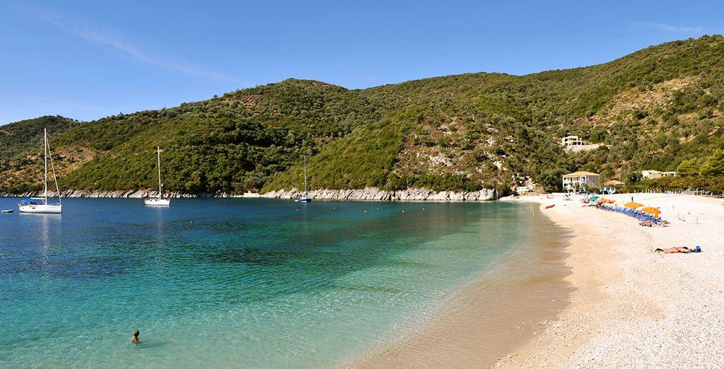 In an unspoiled region of Greece